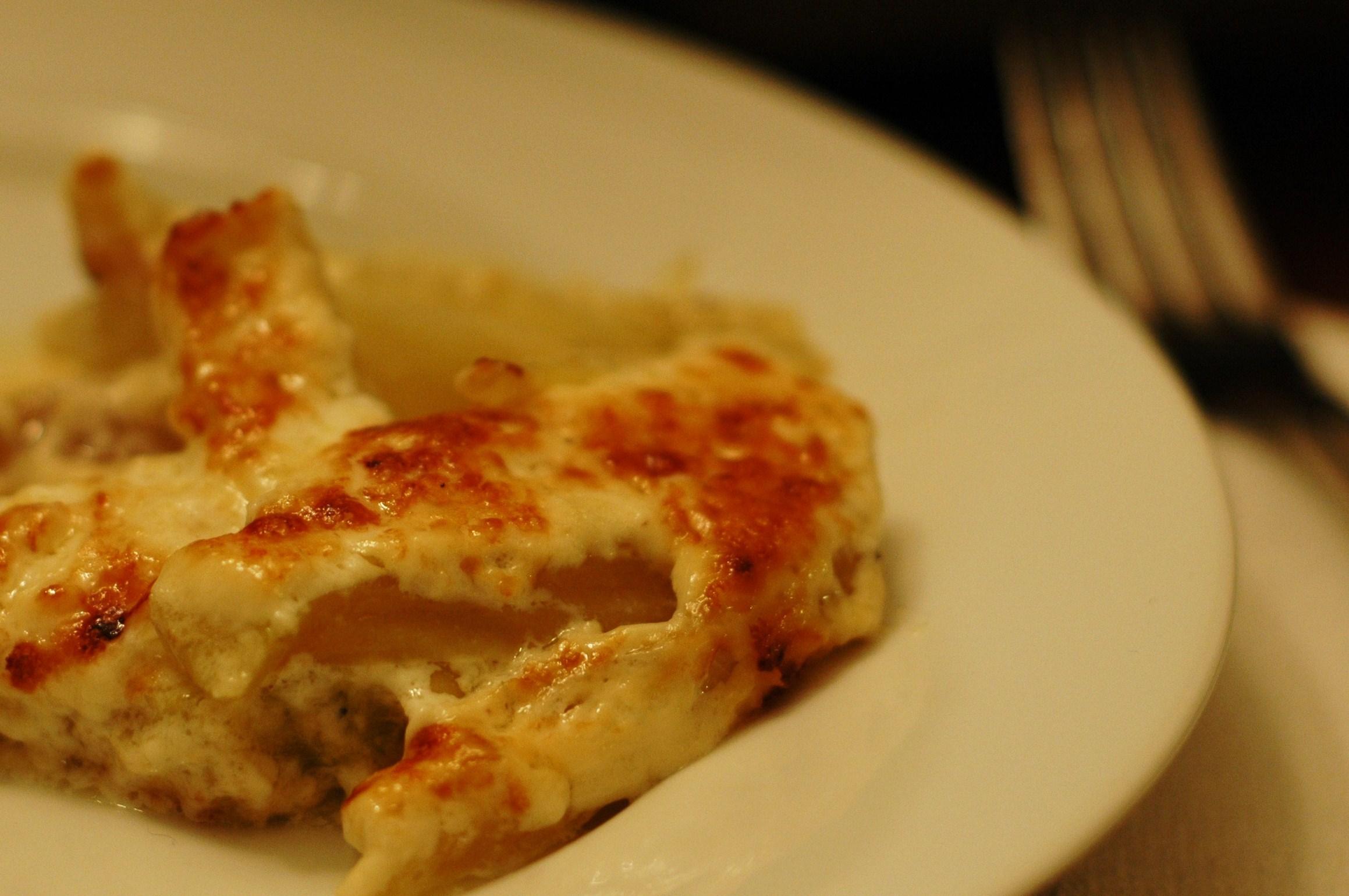 Finocchio al Forno (Fennel Baked in Cream) - but i'm hungry