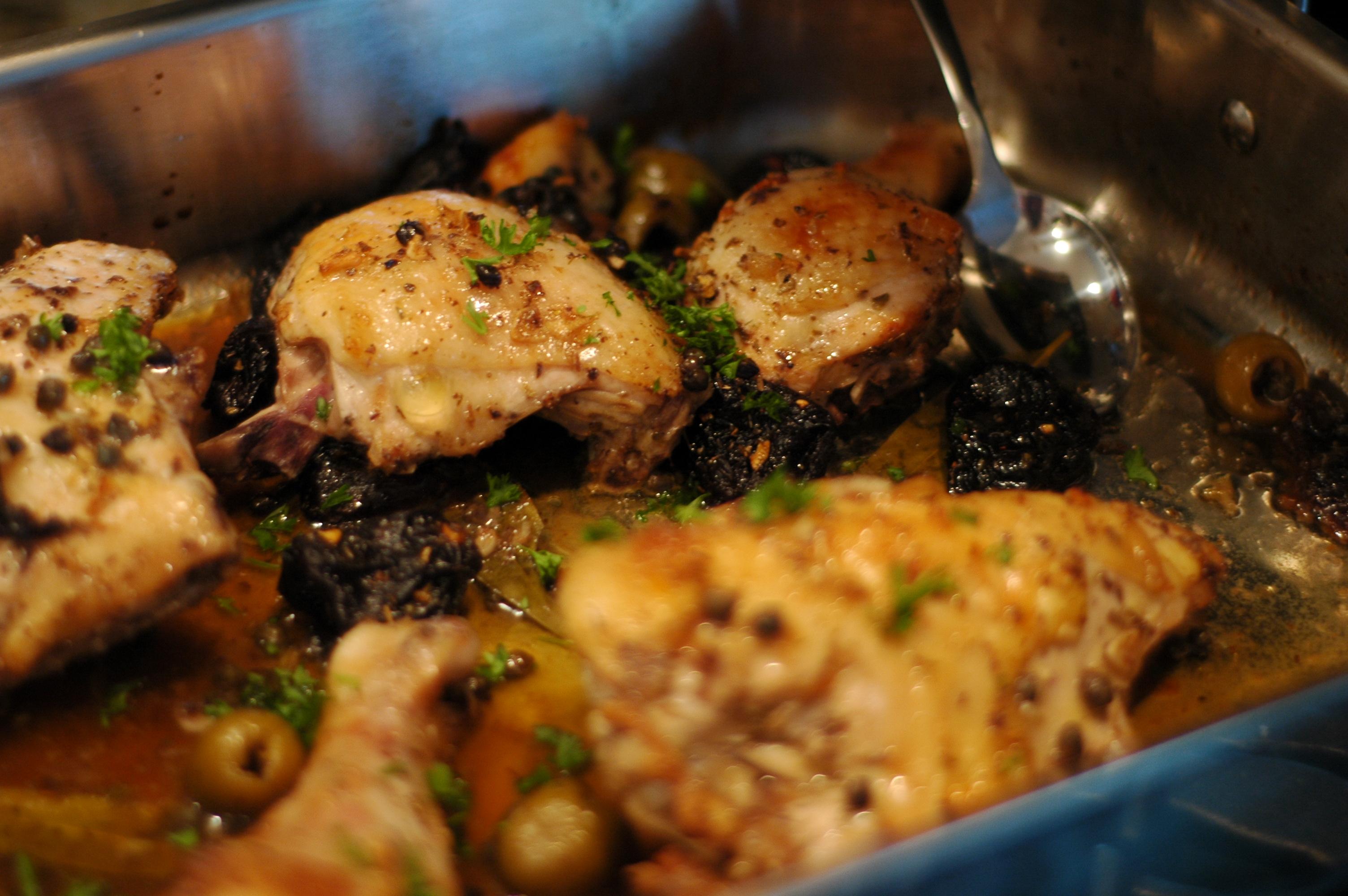 Chicken Marbella Recipe America S Test Kitchen