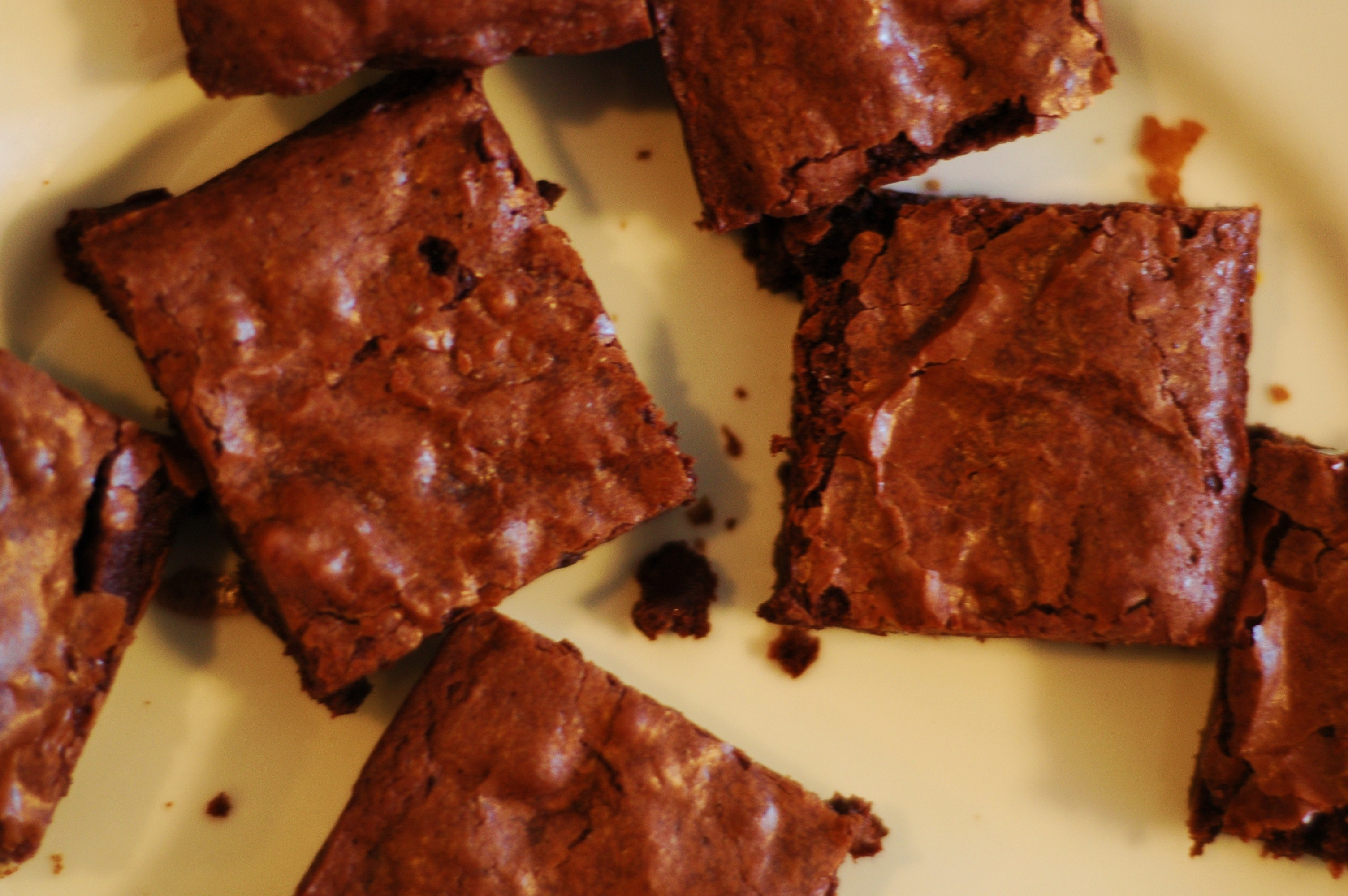 Cocoa Brownies with Browned Butter and Walnuts - but i'm hungry
