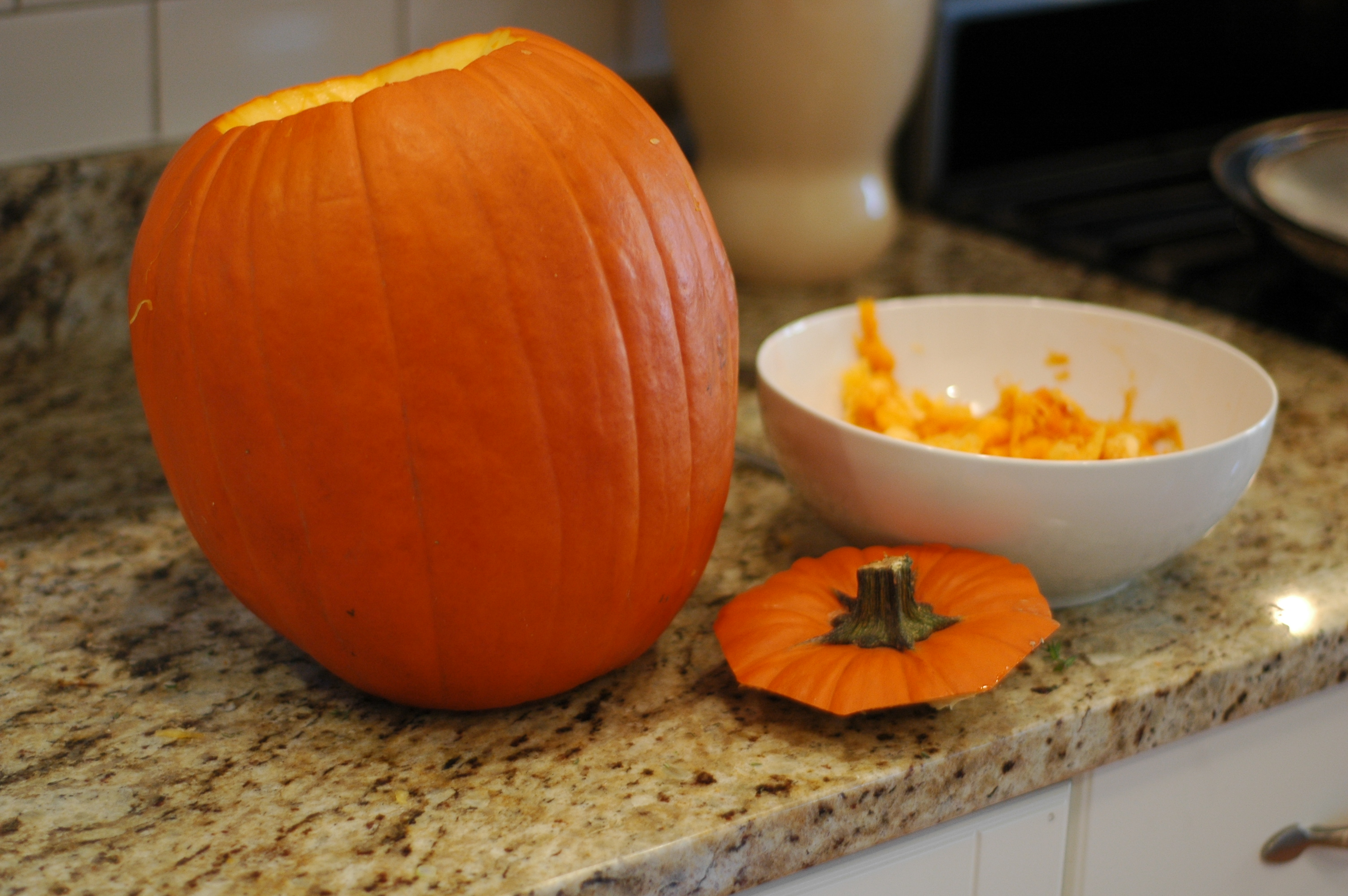 Pumpkin Stuffed with Everything Good - but i'm hungry