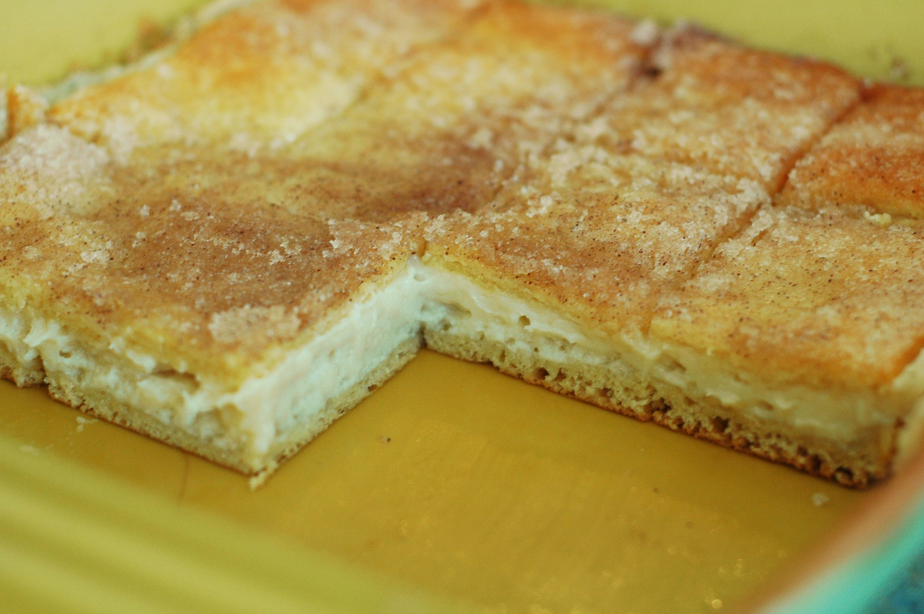 Sopapilla Cheesecake: Two Ways - but i'm hungry